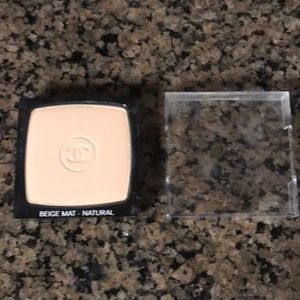 Chanel beige mat natural shine control powder